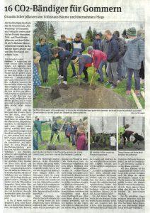 16 CO²-Bändiger für Gommern Ferchland Garten- und Landschaftsbau GmbH